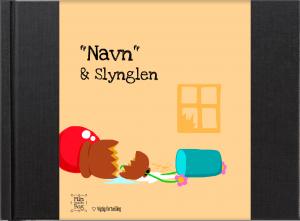 """""""Navn & Slynglen"""" - en personlig børnebog af Anne Mette Kærgaard Olesen fra minbedstebog.dk"""